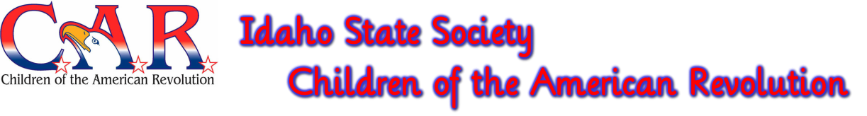 Idaho State Society Children of the American Revolution
